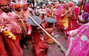 INDIA-RELIGION-HOLI-LATHMAR
